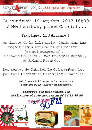 AfficheTropiqueFM Montbarbon 2012.jpg